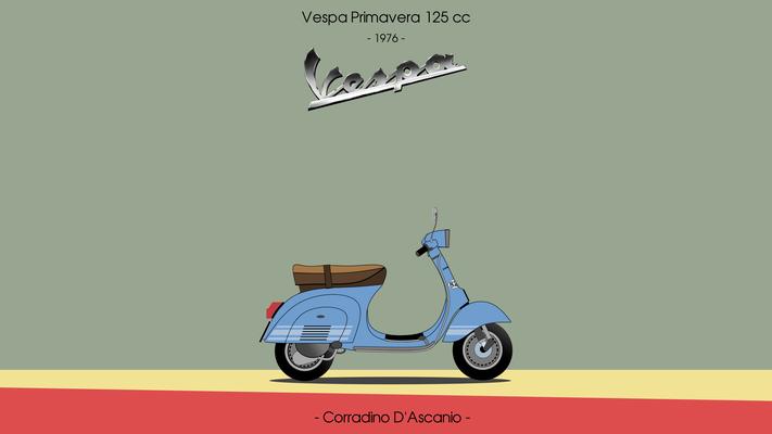 Vespa primavera 125cc ET3