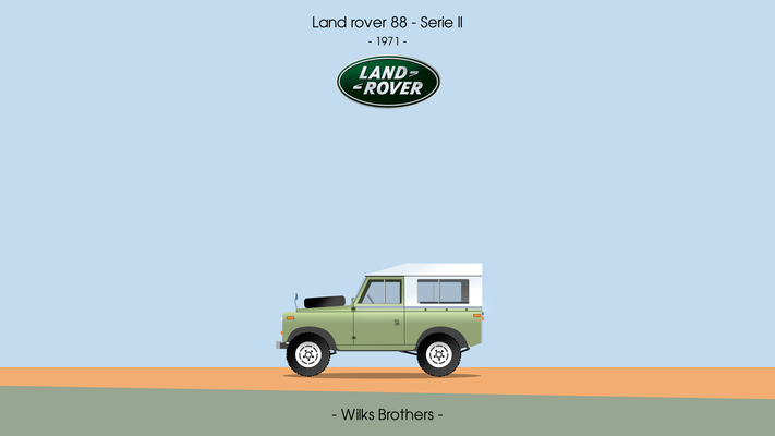 Land Rover 88 serie II 1971