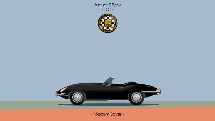 """Jaguar E-Type 1961 """"Black"""""""