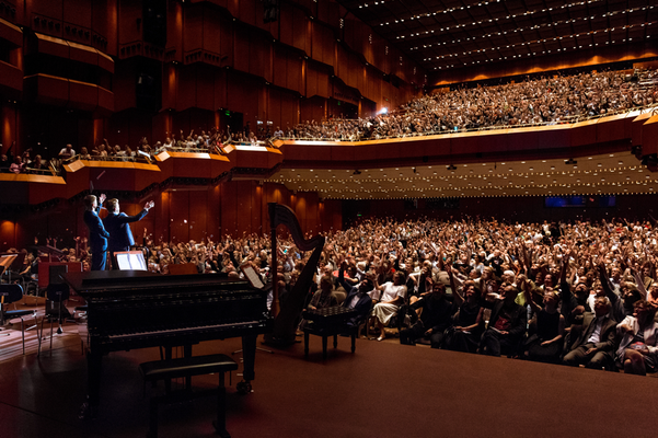 Galamoderation in der Alten Oper Frankfurt
