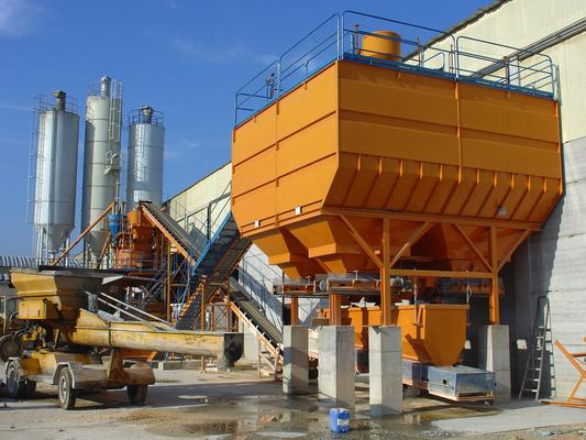 Plantas de hormigón para prefabricados