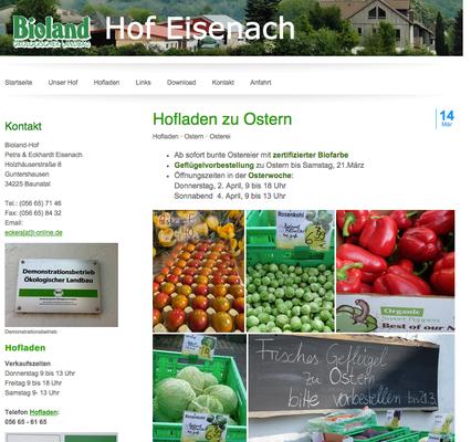Bioland-Ei, Guntershausen