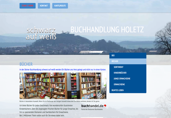 Buchhandlkung in Gudensberg