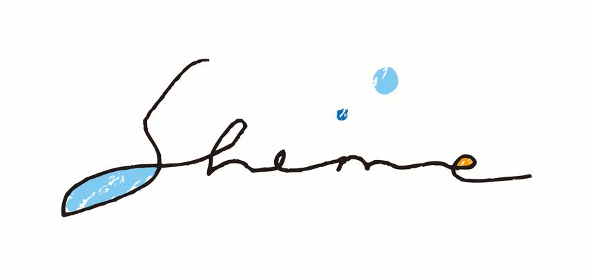 シンガーソングライター「sheme」ロゴ