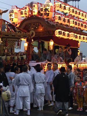 佐倉の秋祭り 鏑木町の御神酒所