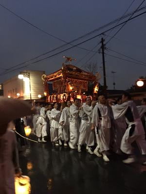 佐倉の秋祭り 樋ノ口