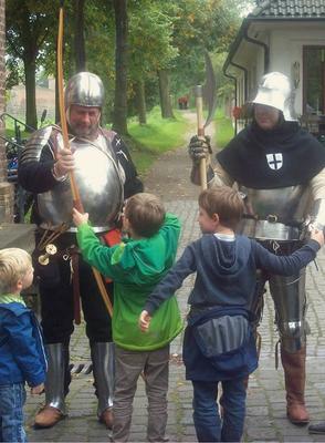 Mittelalter zum Anfassen halt....