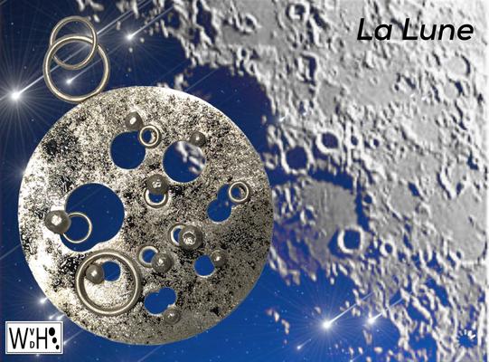 Edelsmid Wilma van den Hoek Hanger La Lune