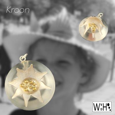 Edelsmid Wilma van den Hoek Kroon zilver