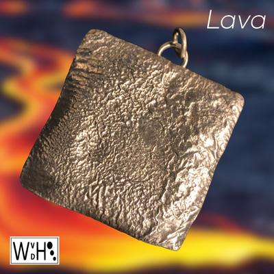 Edelsmid Wilma van den Hoek Hanger gereticuleerd maassluis zilver