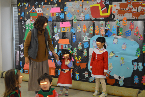 子どもたちが作った壁画