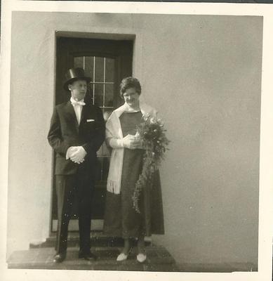 1965-66 Bernd Müller mit Ehefrau Lenchen