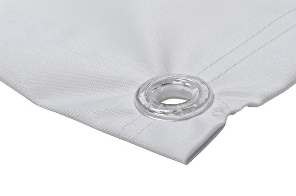 Textilbanner, Detail