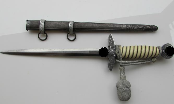 dague luftwaffe officier WW2