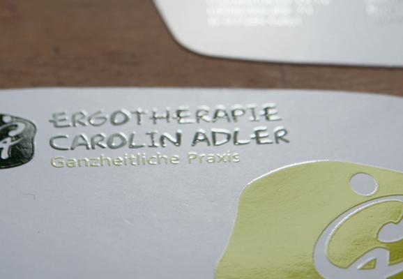 folien-fabrik / Ergotherapie Carolin Adler / Corporate Identity
