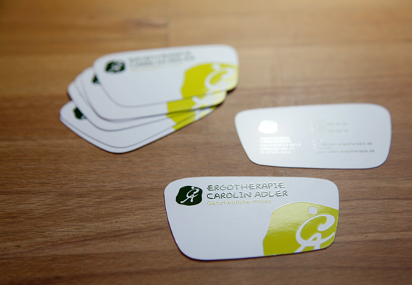 folien-fabrik / Ergotherapie Carolin Adler / Corporate Identity