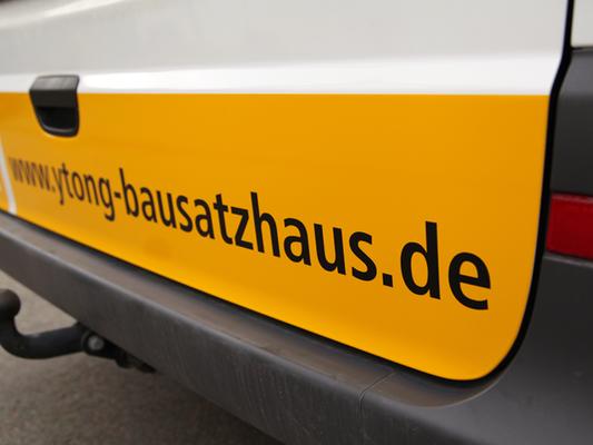 folien-fabrik / BSH-Bausatzhaus Ostthüringen GmbH / Fahrzeugbeschriftung