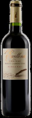 Château Haut Lamouthe Bergerac rouge Cuvée Excellence