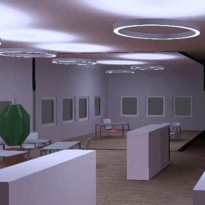 Lichtplanung und Berechnung Büro