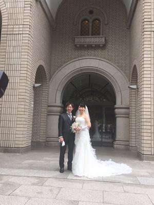 教会挙式@神田教会