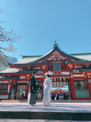 和装挙式@日枝神社