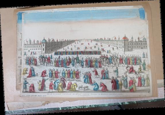 Constantinople, Vue de la grande Cavalcade […] / Abbeville, Musée Boucher-de-Perthes