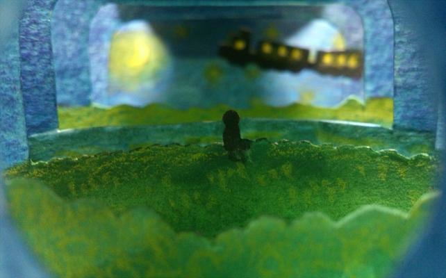 銀河鉄道の夜(トンネル部分)