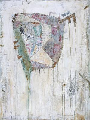 """In search of Iron Hans"", 100 x 135 cm auf Leinwand"