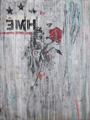 """Begin of Autumn"", 95 x 125 cm auf Leinwand"