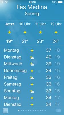 ganz schön warm :-)