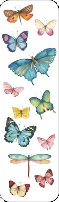 Marque-page illustré par Mila