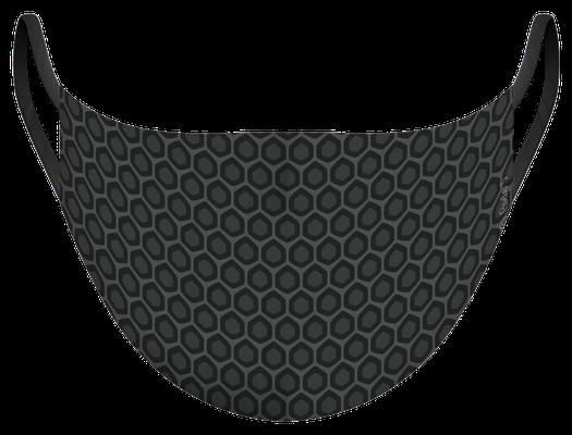 Masque de protection lavable fabriqué en France, illustré par MG - certifié  100 lavages - MKL 22