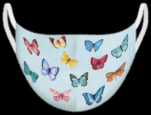 Masque de protection illustré par Mila