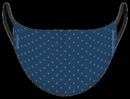 Masque de protection lavable fabriqué en France, illustré par MG - certifié  100 lavages - MKM 32 - UNS1