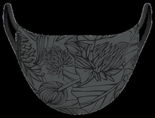 Masque de protection lavable fabriqué en France, illustré par Silowane - certifié  100 lavages - MKM 23 - UNS1