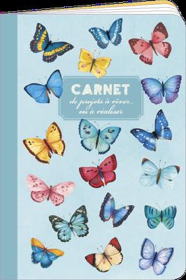 Carnet de poche, 48 pages lignées, 100% fabriqué en France et 100% recyclable. Illustré par Mila - KNT4.