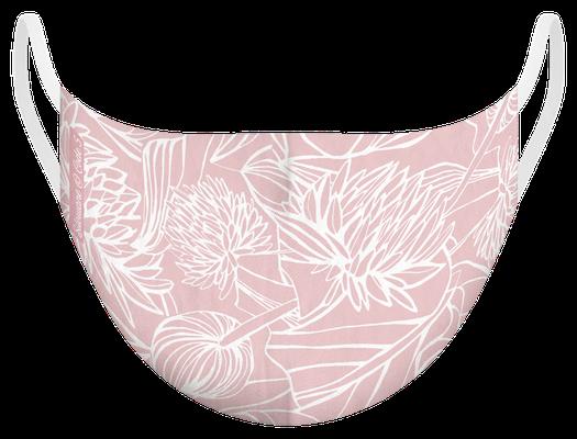 Masque de protection lavable fabriqué en France, illustré par Silowane - certifié  100 lavages - MKM12