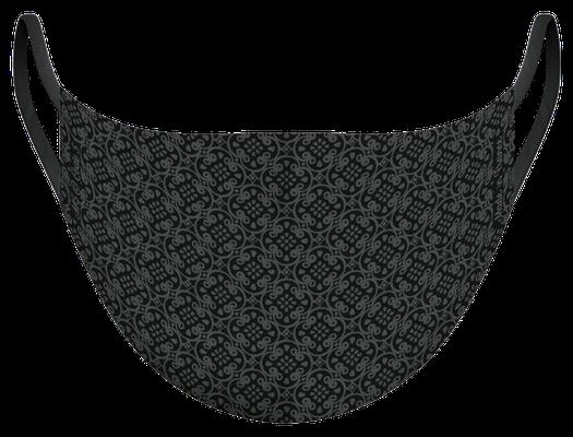 Masque de protection lavable fabriqué en France, illustré par MG - certifié  100 lavages - MKM16 - UNS1