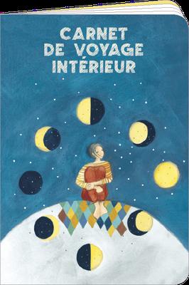 Carnet de poche, 48 pages lignées, 100% fabriqué en France et 100% recyclable. Illustré par Anne-Sophie RUTSAERT - KNT18.