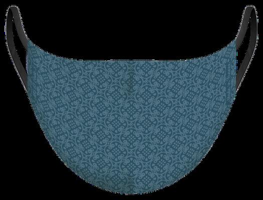 Masque de protection lavable fabriqué en France, illustré par MG - certifié  100 lavages - MKM 15 - UNS1