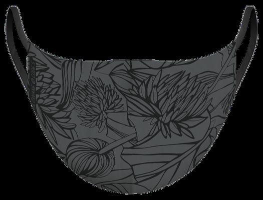 Masque de protection illustré par Silowane
