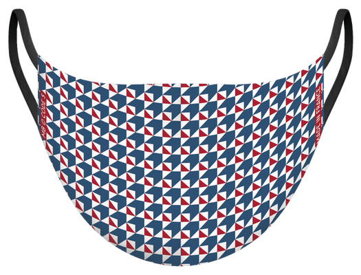 Masque de protection lavable, fabriqué en France, certifié 100 lavages - illustré par MG