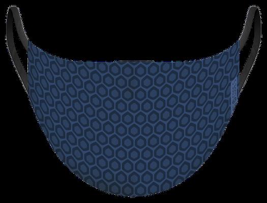 Masque de protection lavable fabriqué en France, illustré par MG - certifié  100 lavages - MKL 21