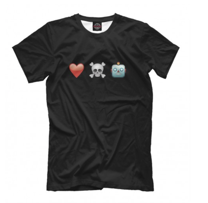 Футболка Любовь, смерть и роботы