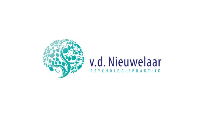 vd Nieuwelaar Psycholoog - logo ontwerp
