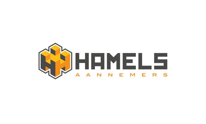 Hamels - logo ontwerp