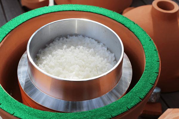 小田式ミニ蒸しかまど小 1.5合炊き・絶品ご飯が炊けた!