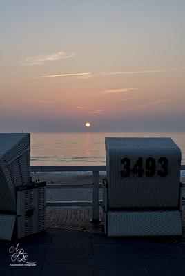 Sonnenuntergang Sylt  -Sept.16-