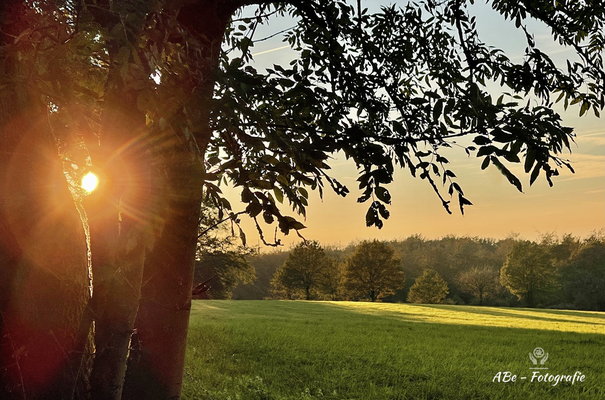 Sonnenuntergang Meininghausen -Oktober 2021-