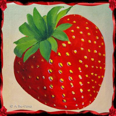 Erdbeere -nach meinem Foto-